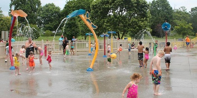 White Pine Splash Pad