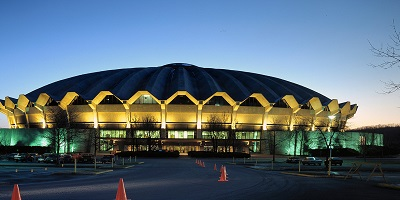 The Wvu Coliseum Is A 14 000 Seat Multi Purpose Arena Located On Evansdale Campus Of West Virginia University In Morgantown