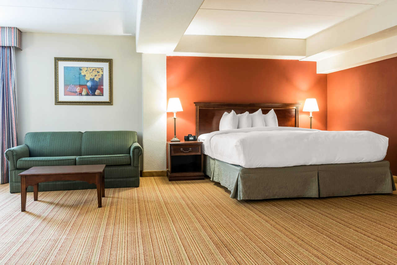 Clarion Hotel Indianapolis Airport - Single Bed