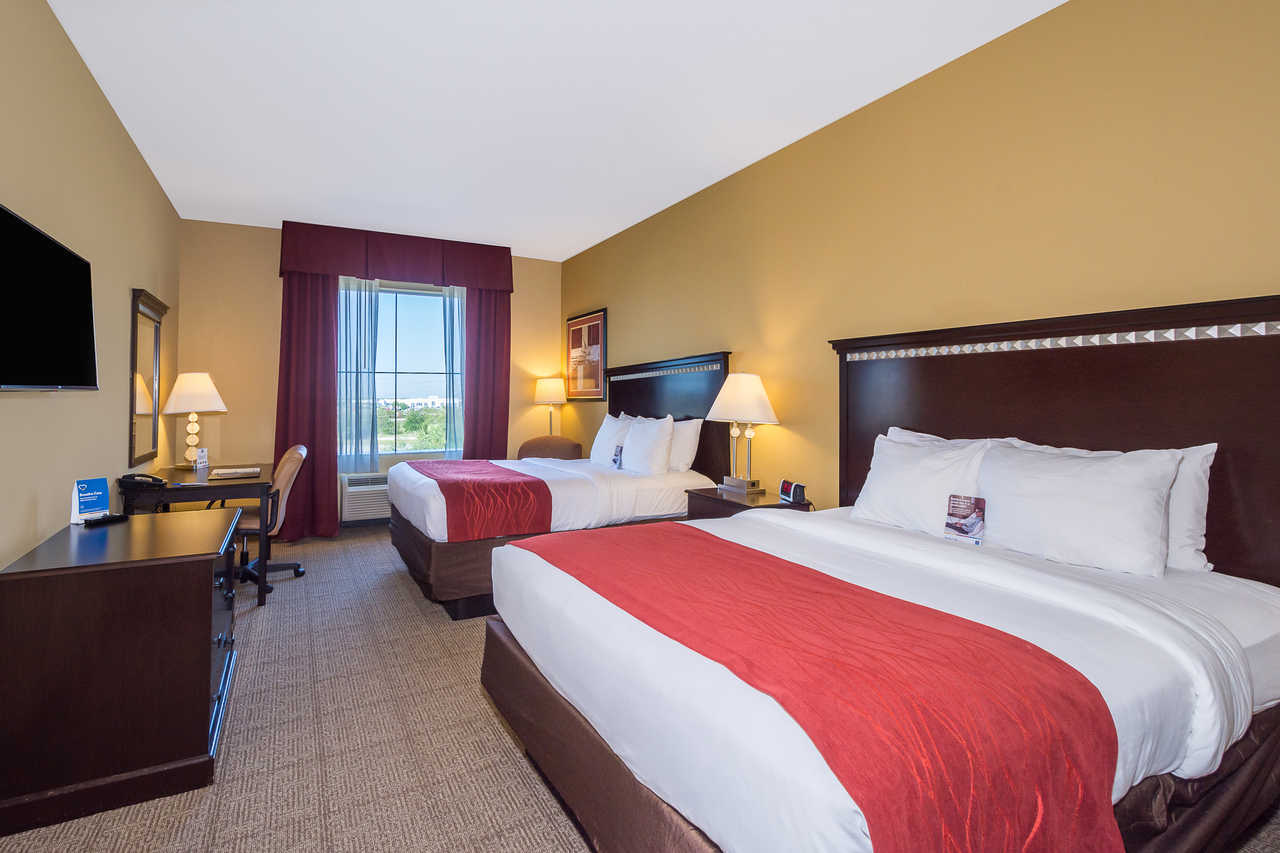 Comfort Inn & Suites Davenport - Double Beds Room