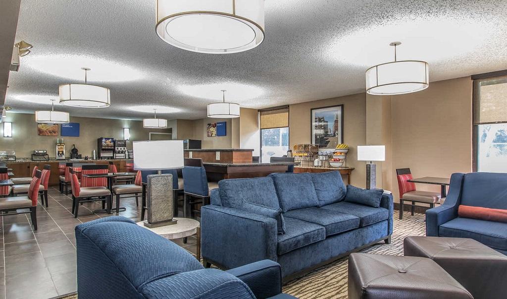 Comfort Inn Jackson - Lobby Lounge