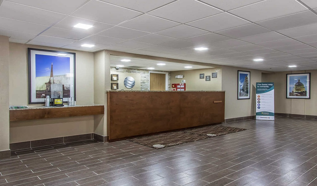 Comfort Inn Jackson - Lobby