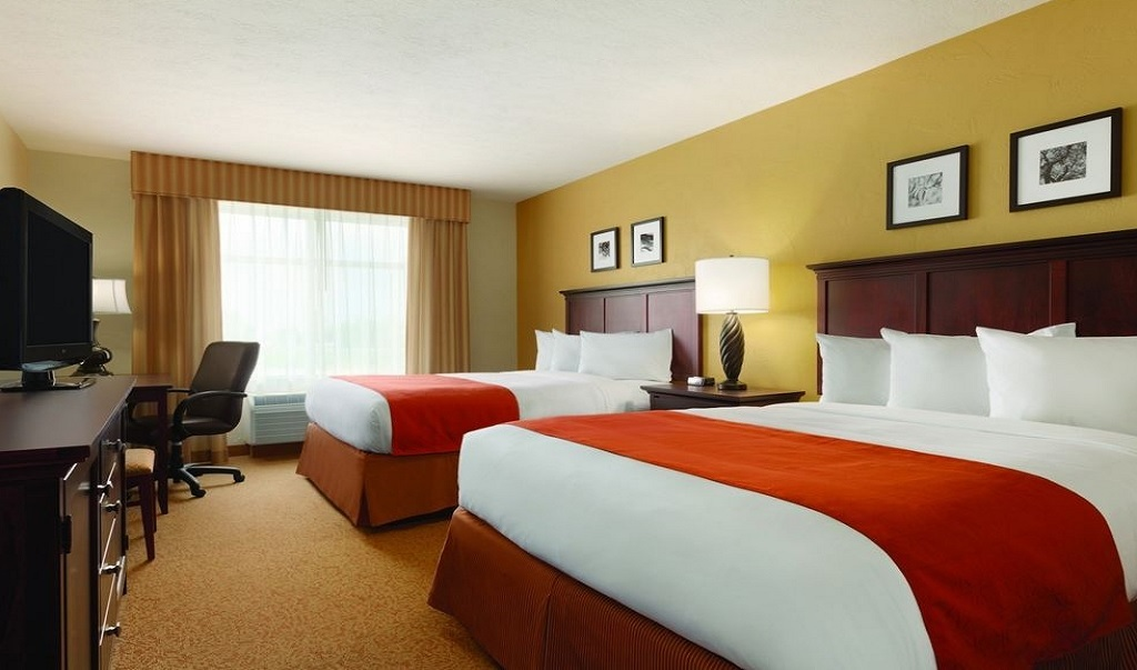 Country Inn and Suites Austin University Texas - Double Beds