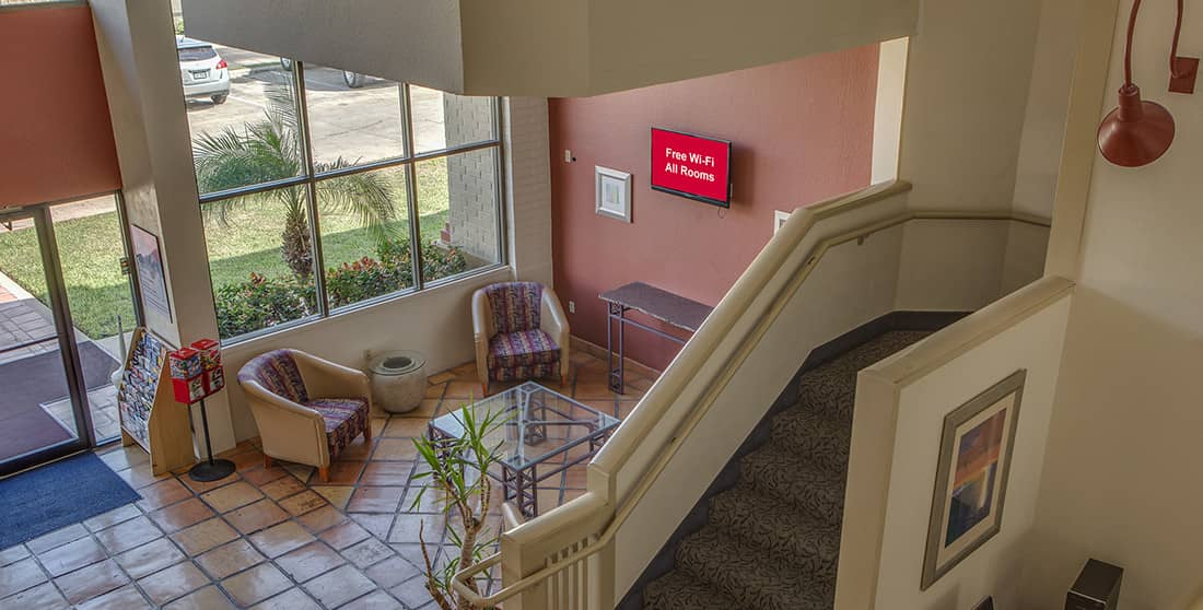 Red Roof Inn Pharr - Lobby Area