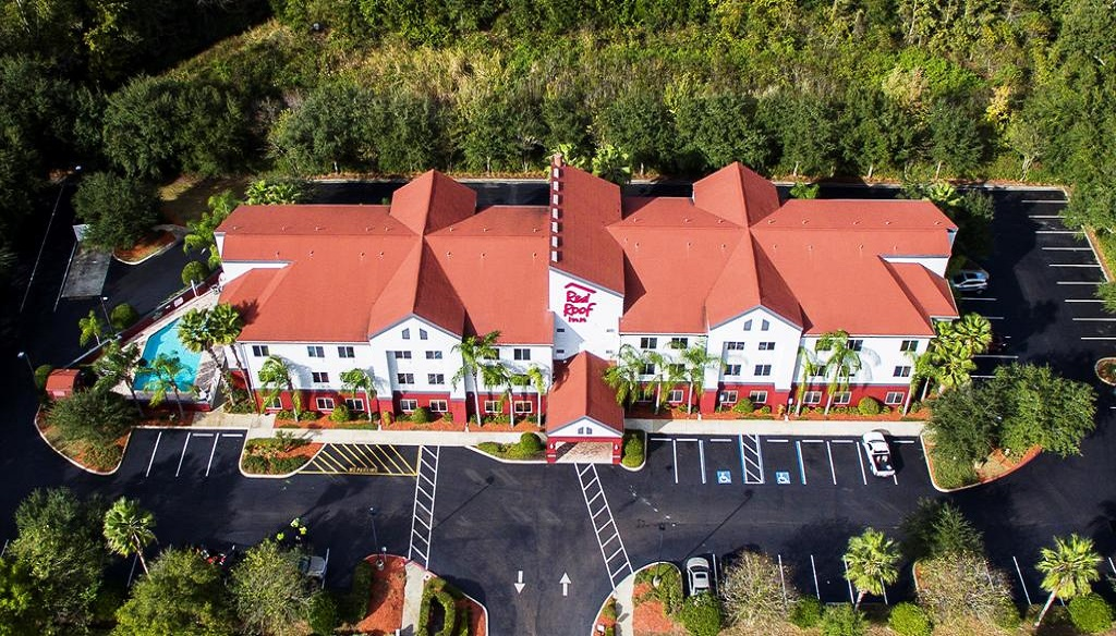 Red Roof Inn Orlando West - Ocoee - Aerial View