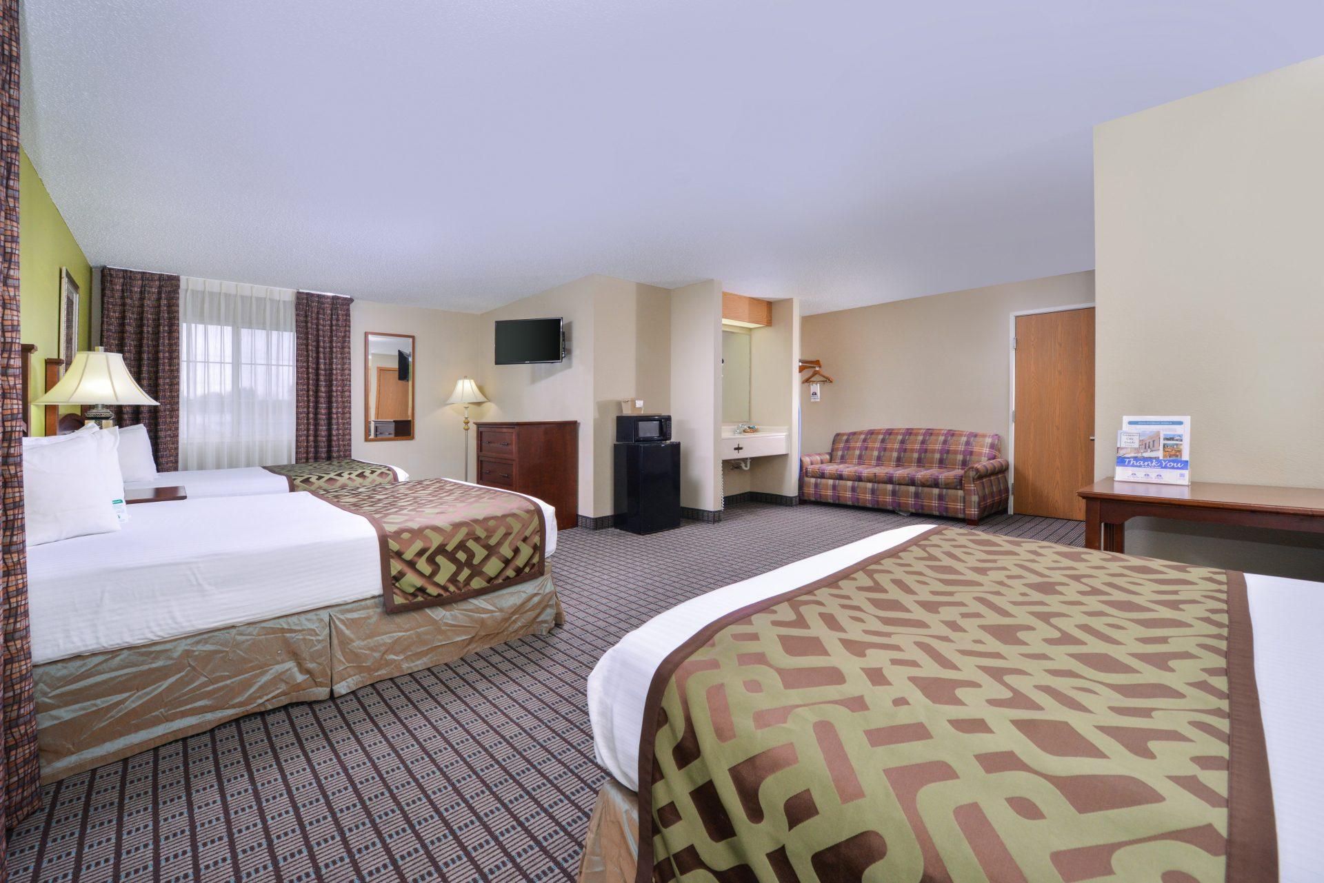 Americas Best Value Inn Geneseo - Double Beds
