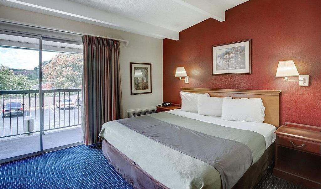 Scottish Inn Whippany - Single Bed Room