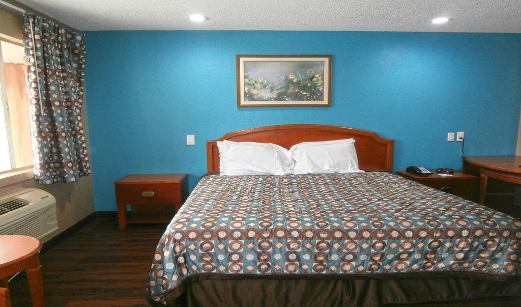 Americas Best Value Inn Savannah - King Bed Room-2