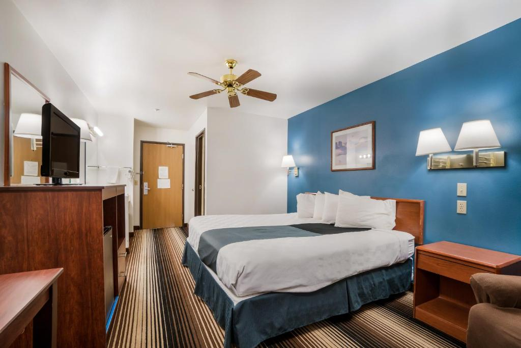 Americas Best Value Inn Green River - Single Bed Room-5