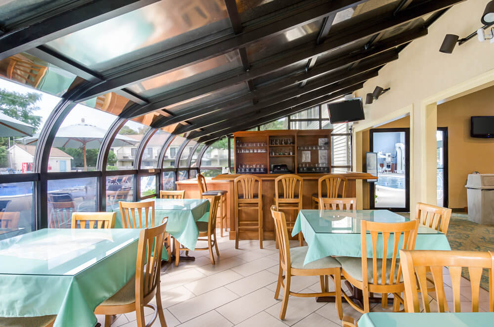 All Seasons Resort Cape Cod - Breakfast Seating Area-1