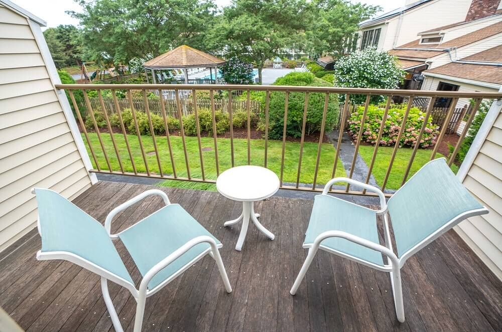 All Seasons Resort Cape Cod - Room Balcony