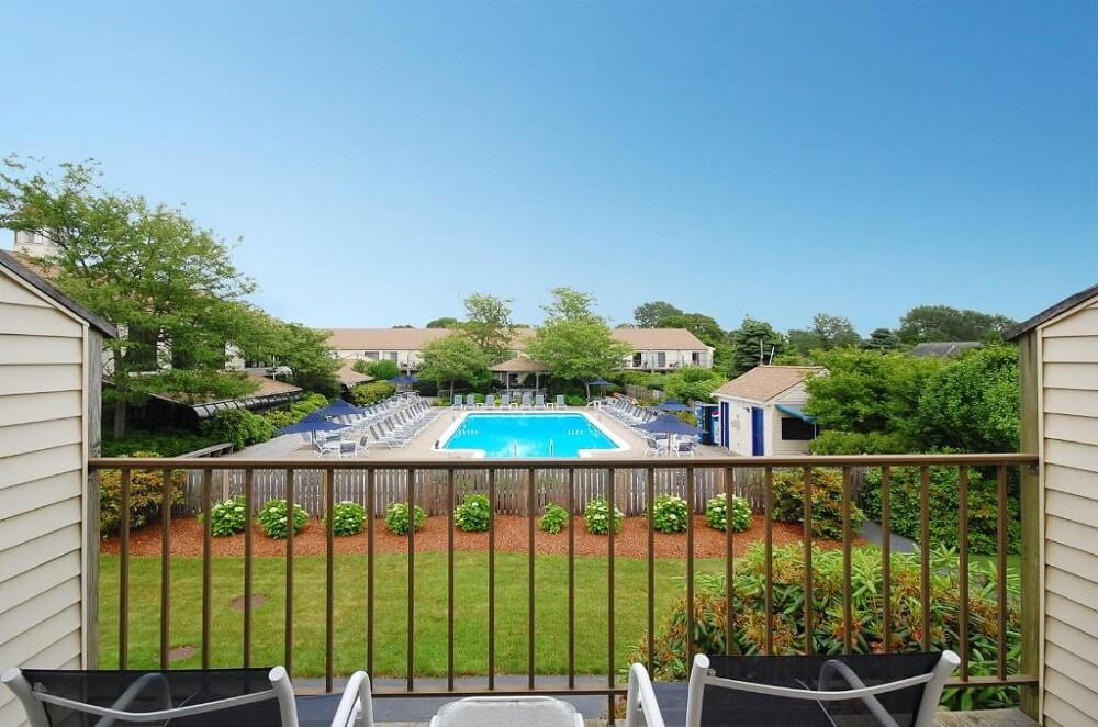 All Seasons Resort Cape Cod - Room Pool View