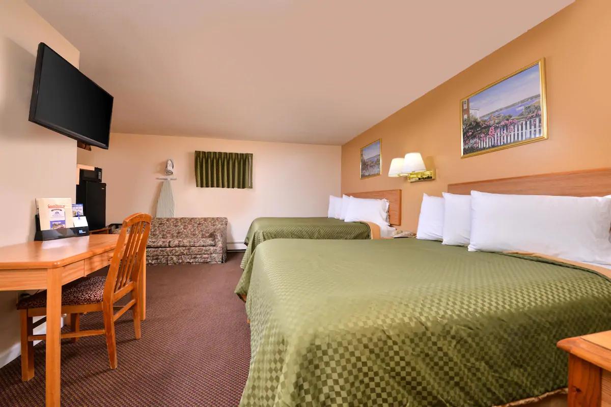 Americas Best Value Inn Jonesville - 2 Queen Beds Room-3