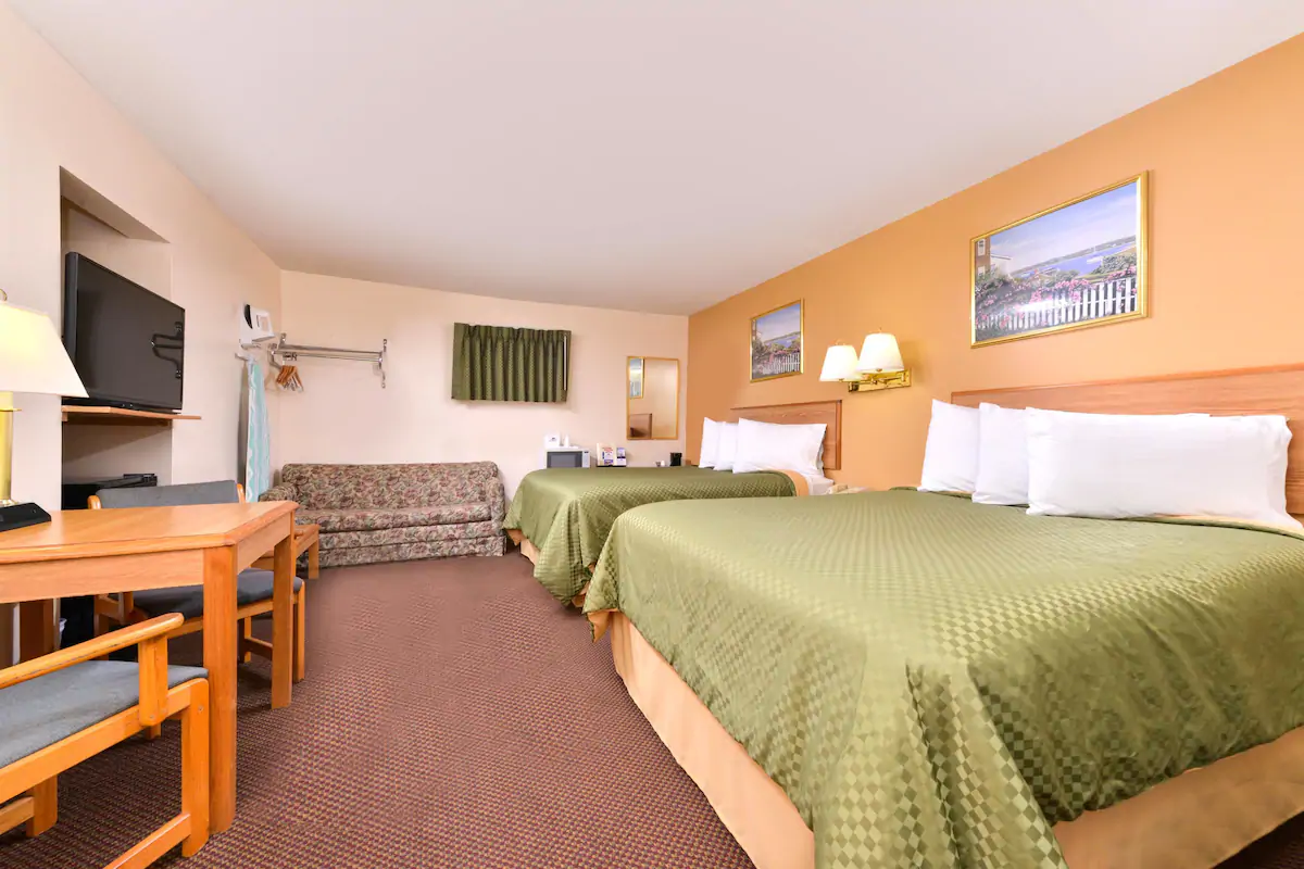 Americas Best Value Inn Jonesville - 2 Queen Beds Room-1
