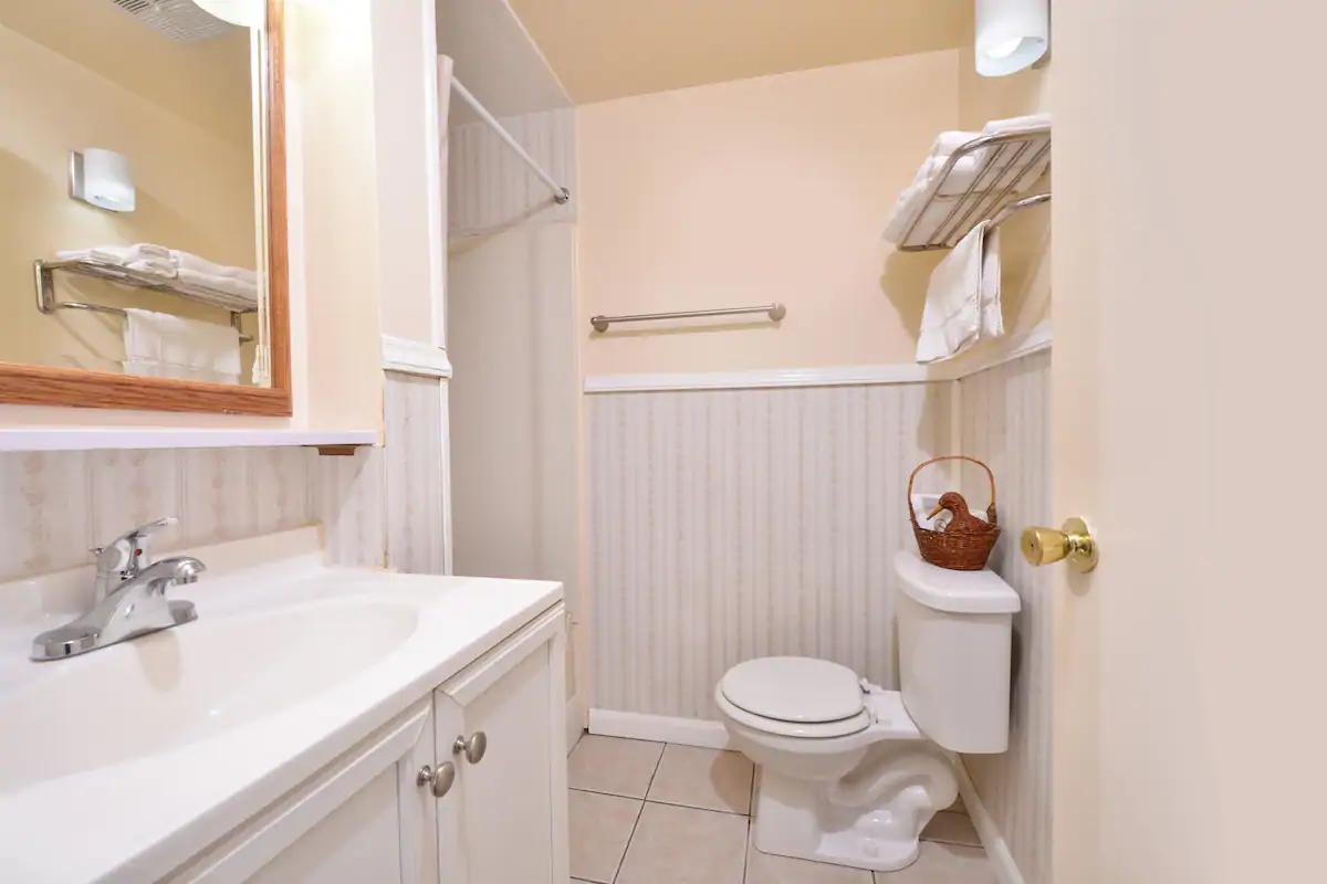 Americas Best Value Inn Jonesville - Room Bathroom
