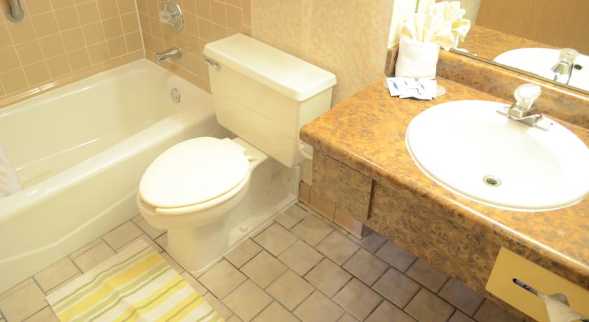 Americas Best Value Inn & Suites - Room Bathroom