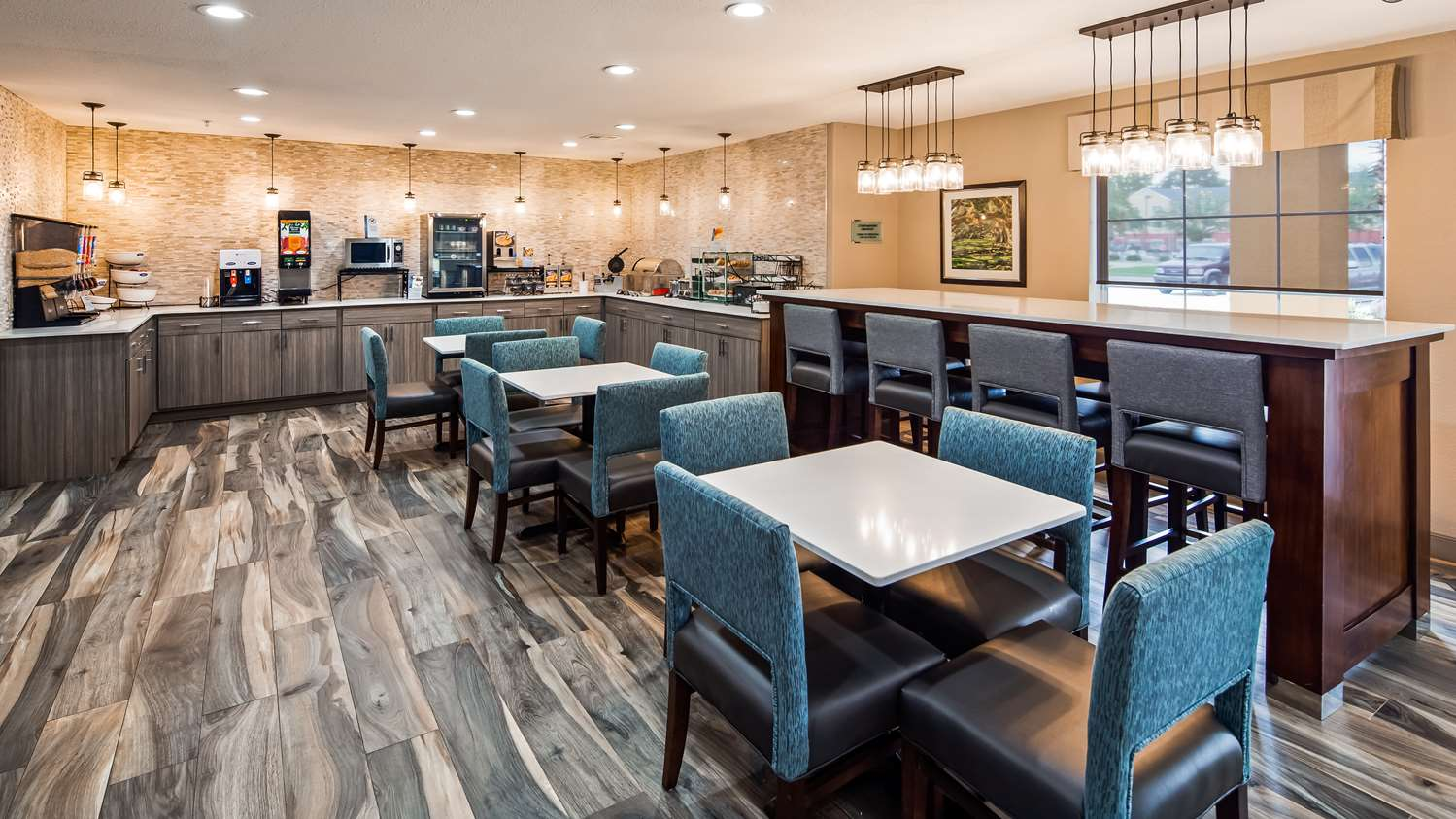 Best Western Lafayette Inn - Breakfast Area