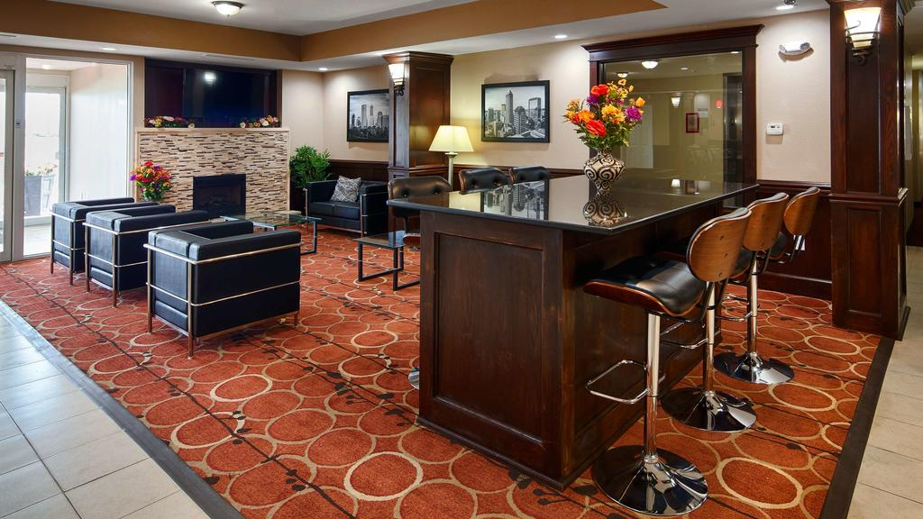 Best Western Plus Crawfordsville - Lobby Lounge