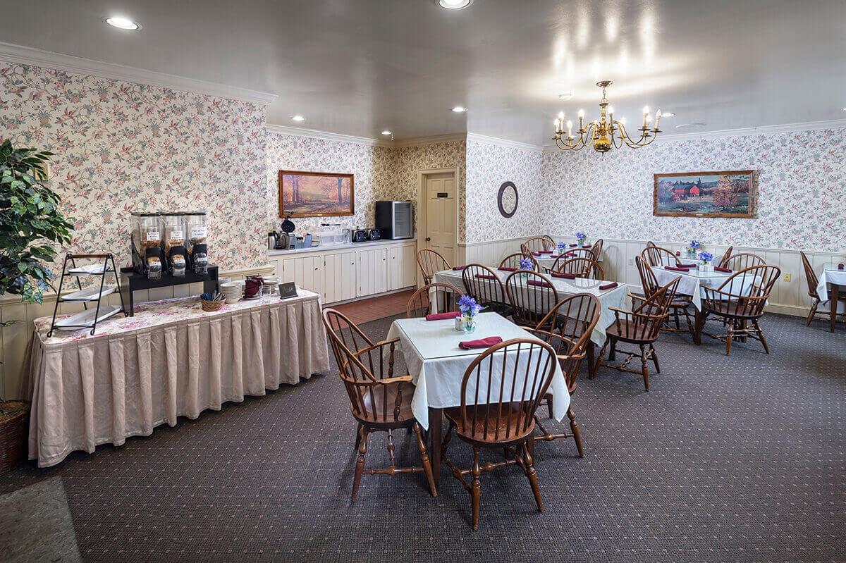 Brandywine River Hotel - Breakfast Area-2