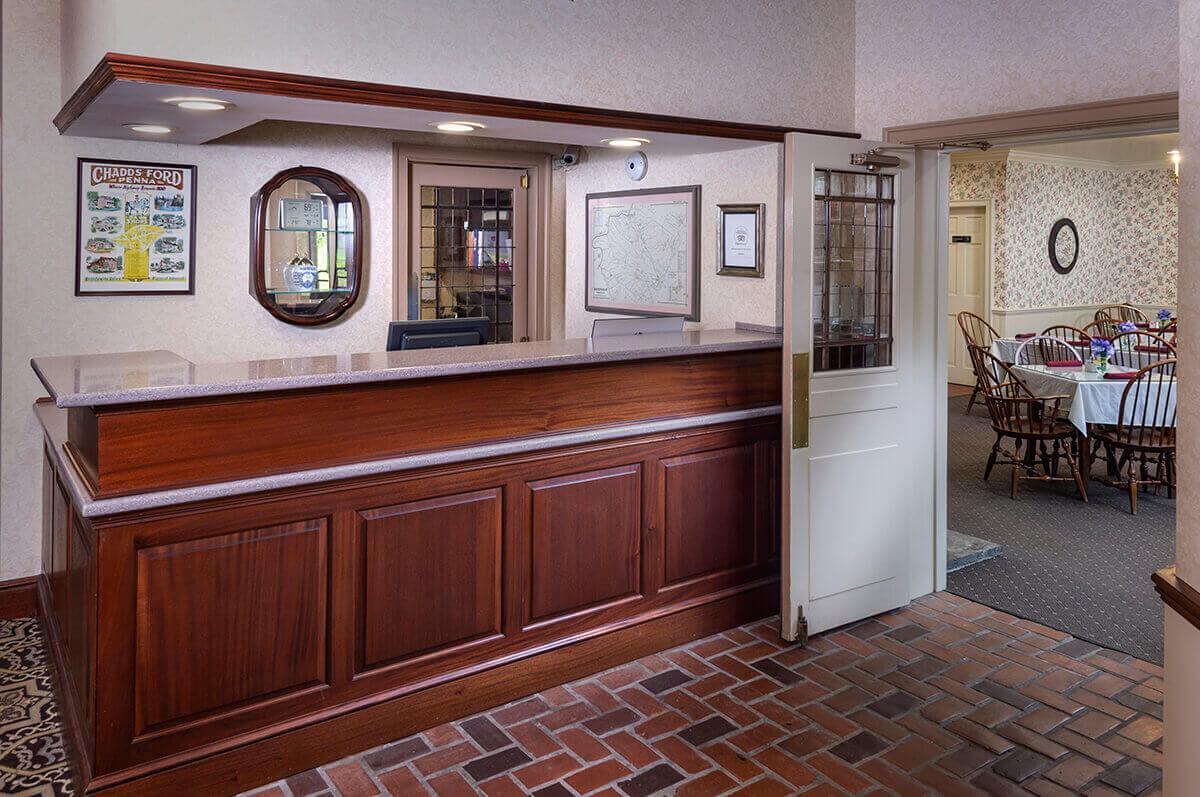 Brandywine River Hotel - Front-desk