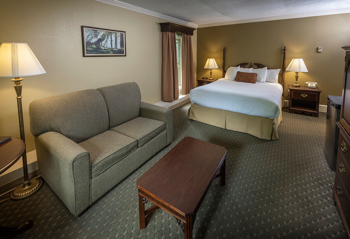 Brandywine River Hotel - Queen Fireside & Jacuzzi Suite