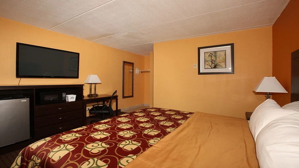Budgetel Inn South Glens Falls - Single Bed-4