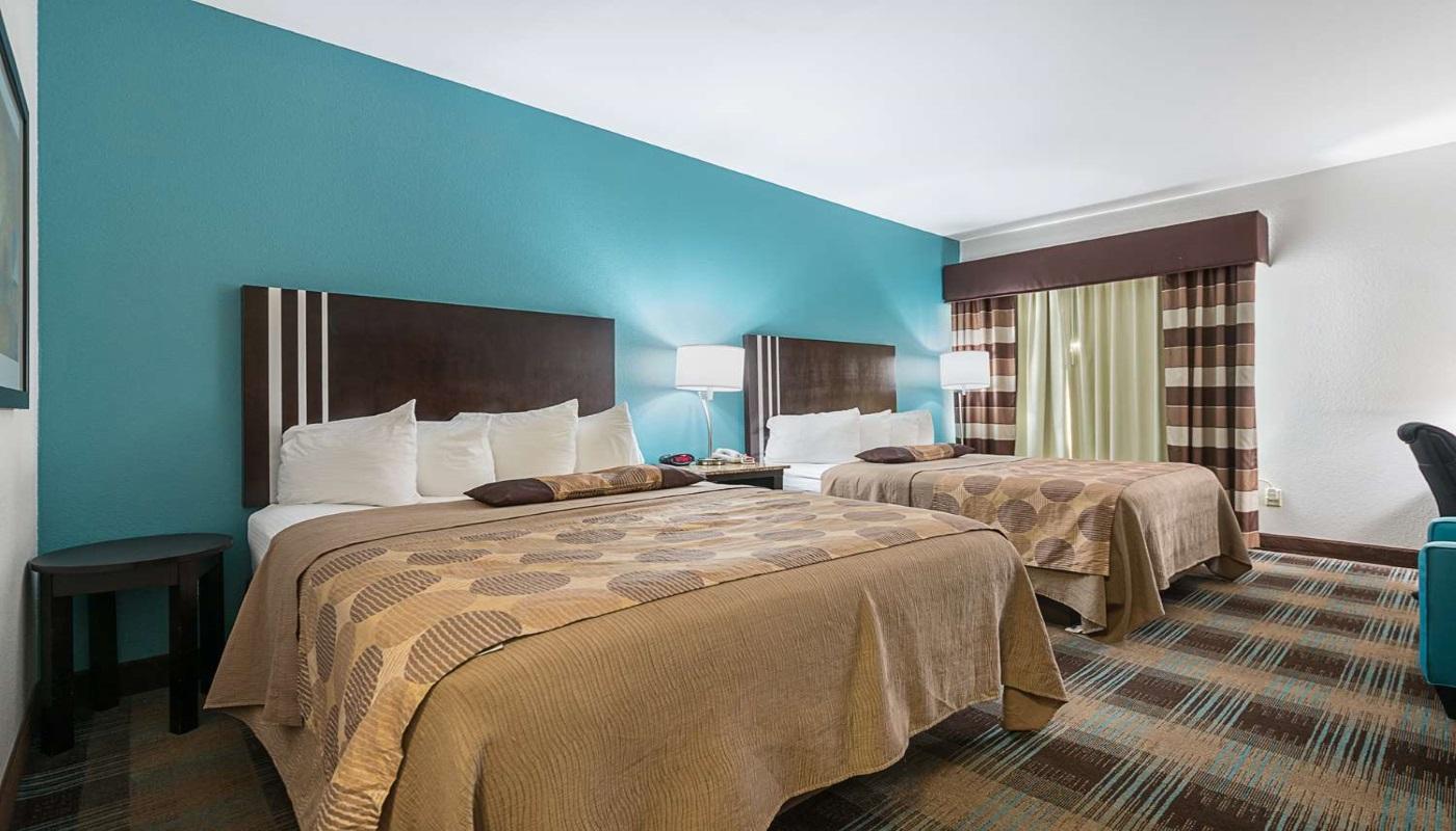 Best Western Plus DeRidder Inn & Suites - Double Beds-1