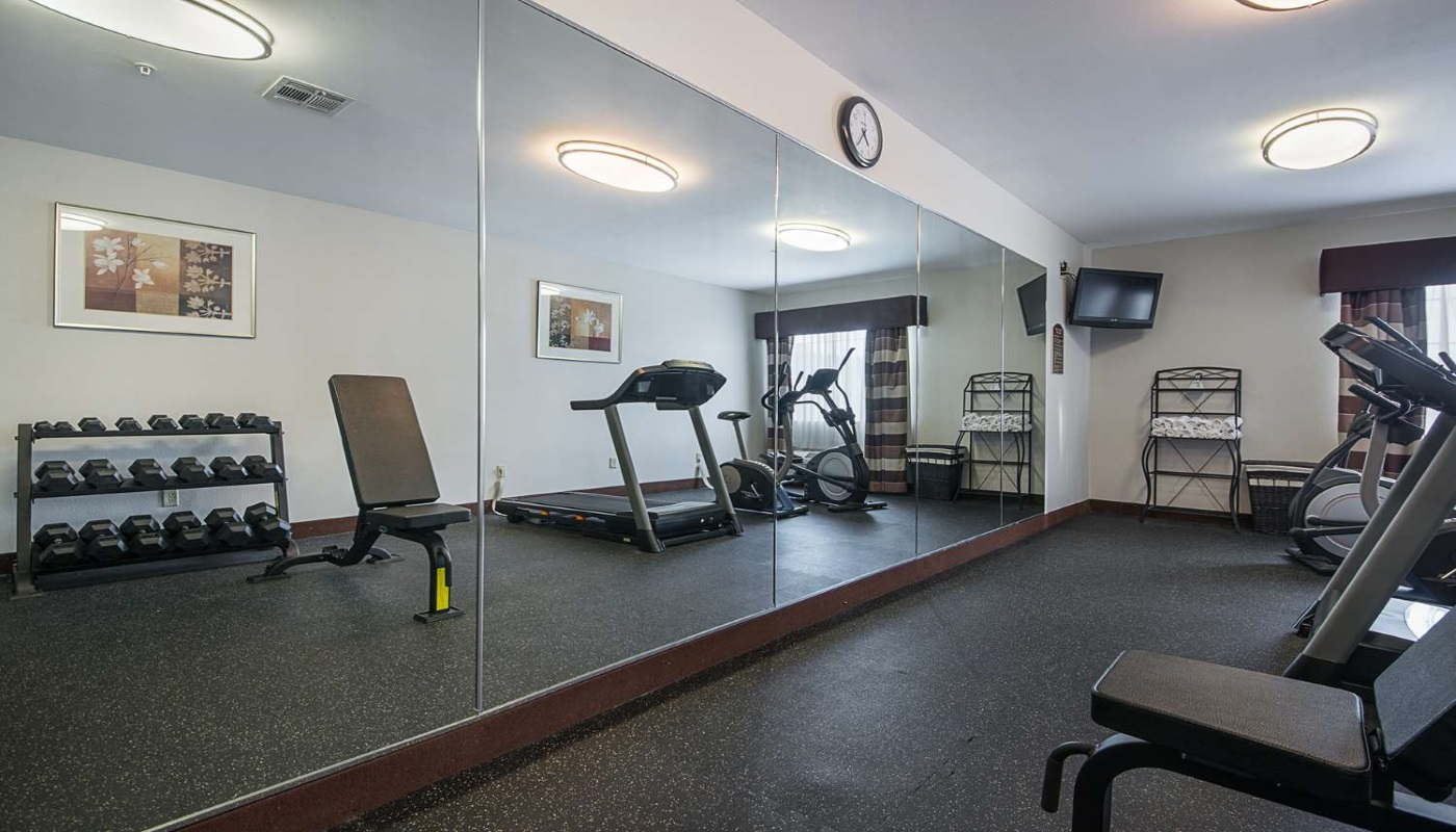 Best Western Plus DeRidder Inn & Suites - Fitness Area-1