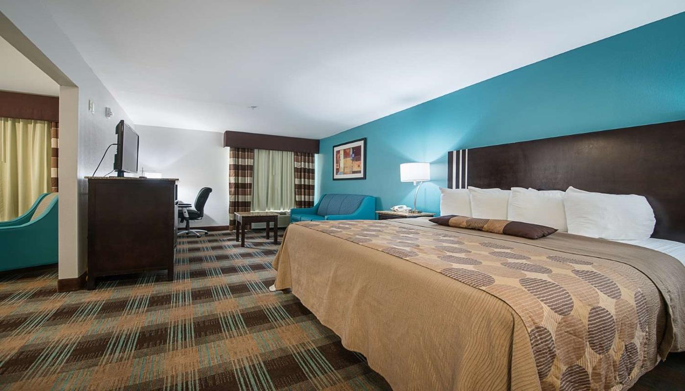 Best Western Plus DeRidder Inn & Suites - Single Bed-1