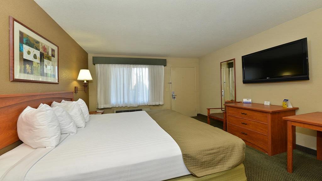 Cajon Pass Inn - Single Bed Room-2
