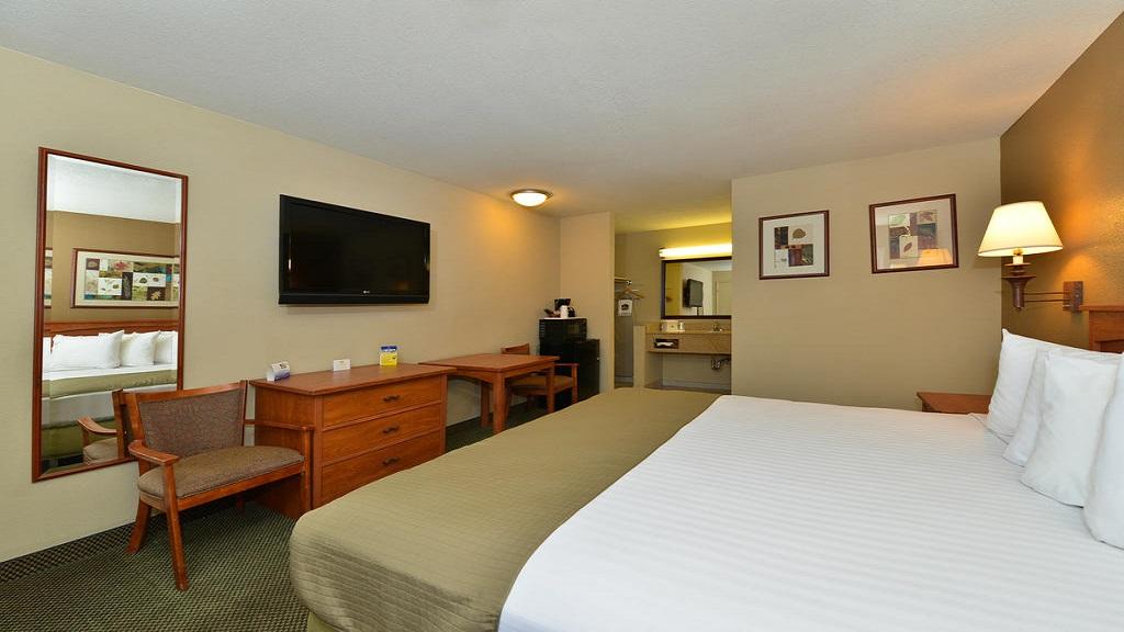 Cajon Pass Inn - Single Bed Room-1