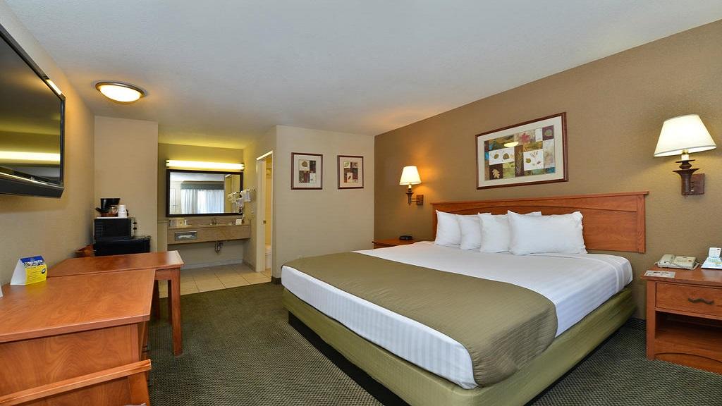 Cajon Pass Inn - Single Bed Room-4