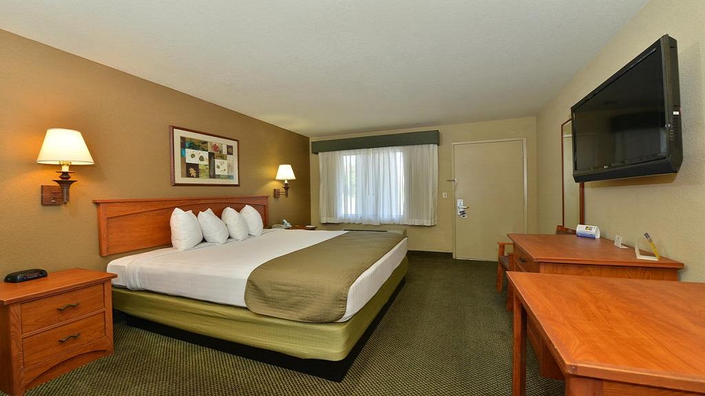 Cajon Pass Inn - Single Bed Room-8