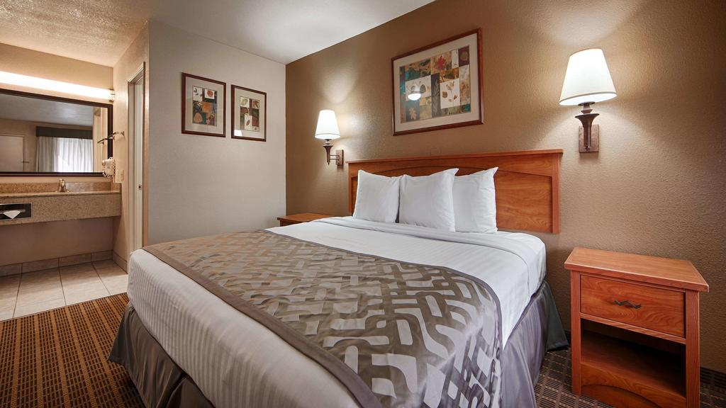 Cajon Pass Inn - Single Bed Room-7