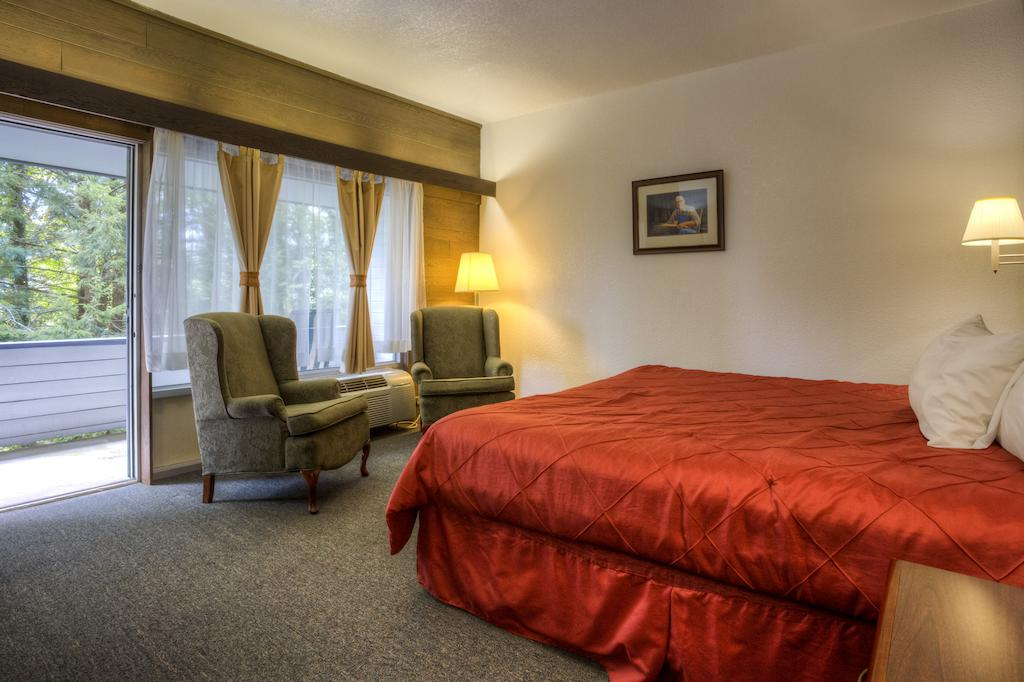 Chalet Inn Gatlinburg - Single Bed with Balcony View-1
