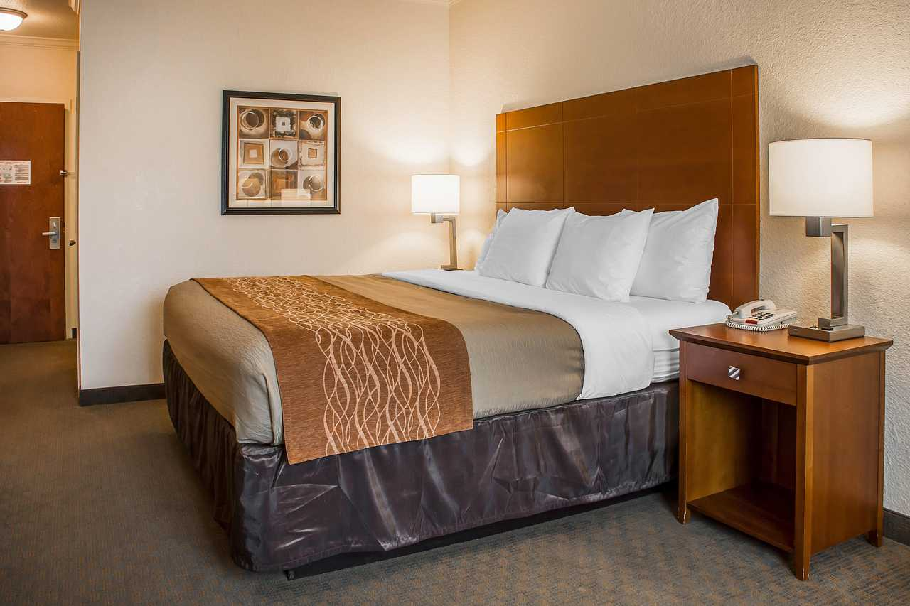 Comfort Inn Huntsville Alabama - Single Bed Room