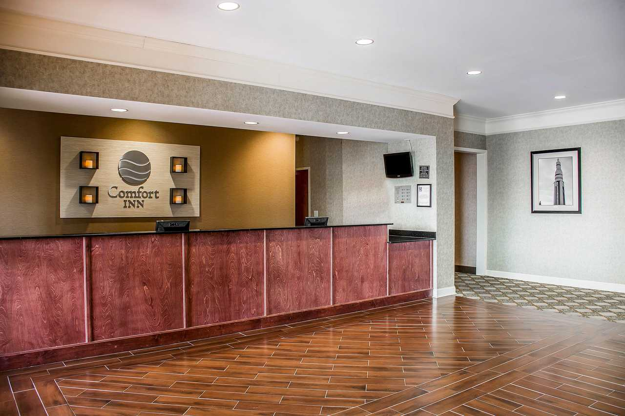 Comfort Inn Huntsville Alabama - Reception