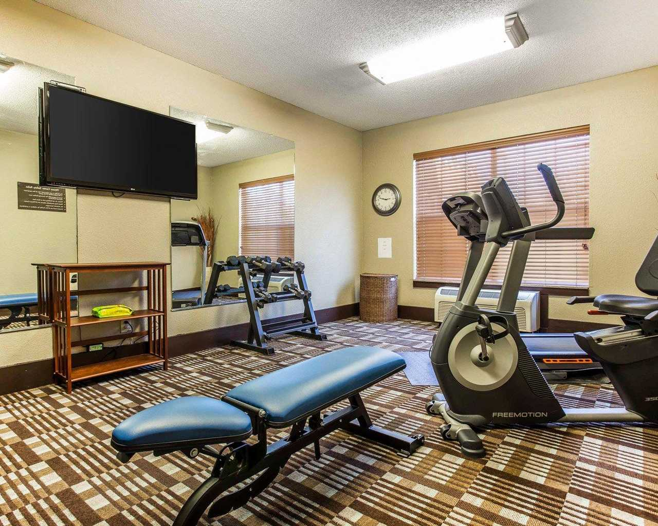 Comfort Inn & Suites Ballpark Area - Fitness Area-2