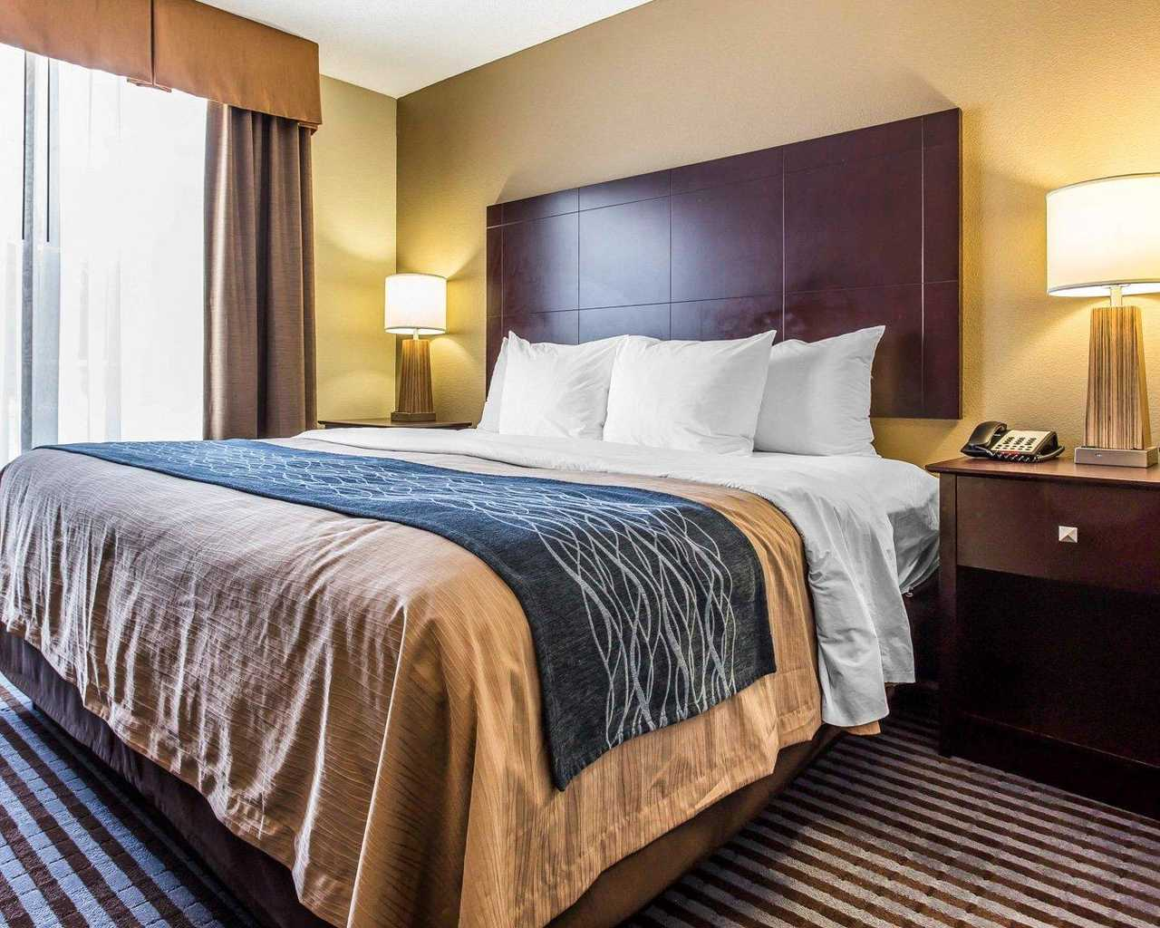 Comfort Inn & Suites Ballpark Area - King Bed Room-3