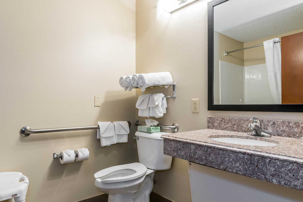 Comfort Suites Springfield - Guest Bathroom