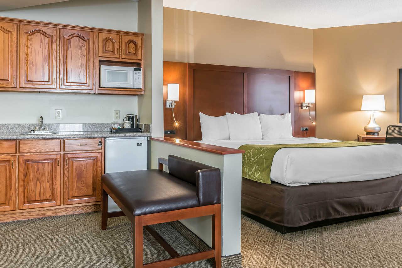 Comfort Suites Springfield - Single Bed-2