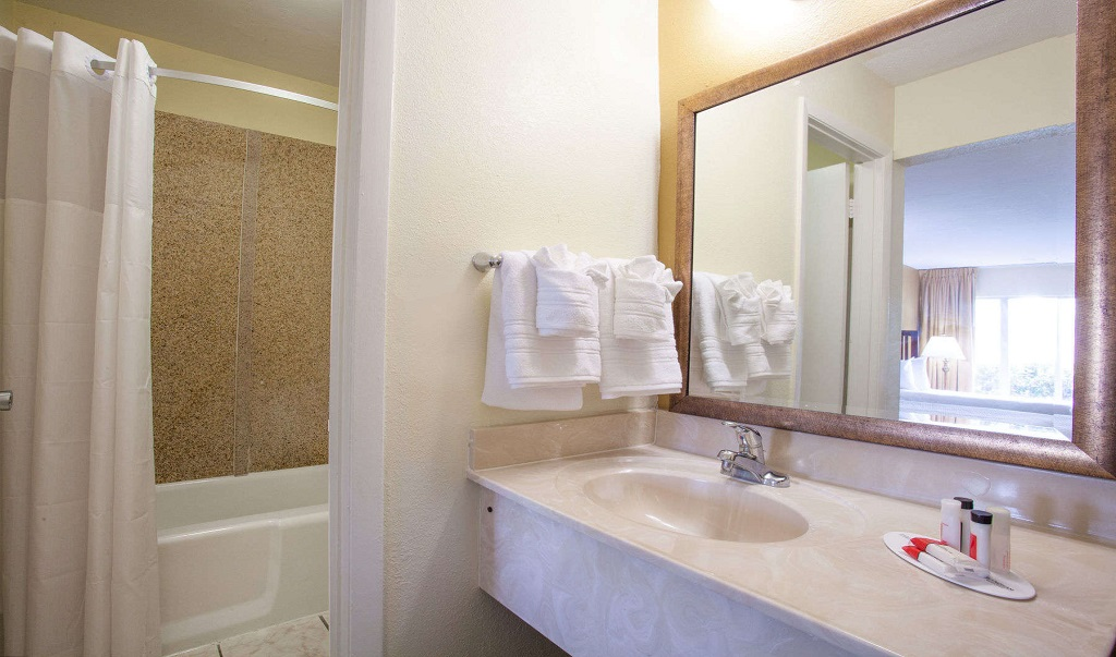 Days Inn Daytona Beach Speedway - Guestroom-Bathroom