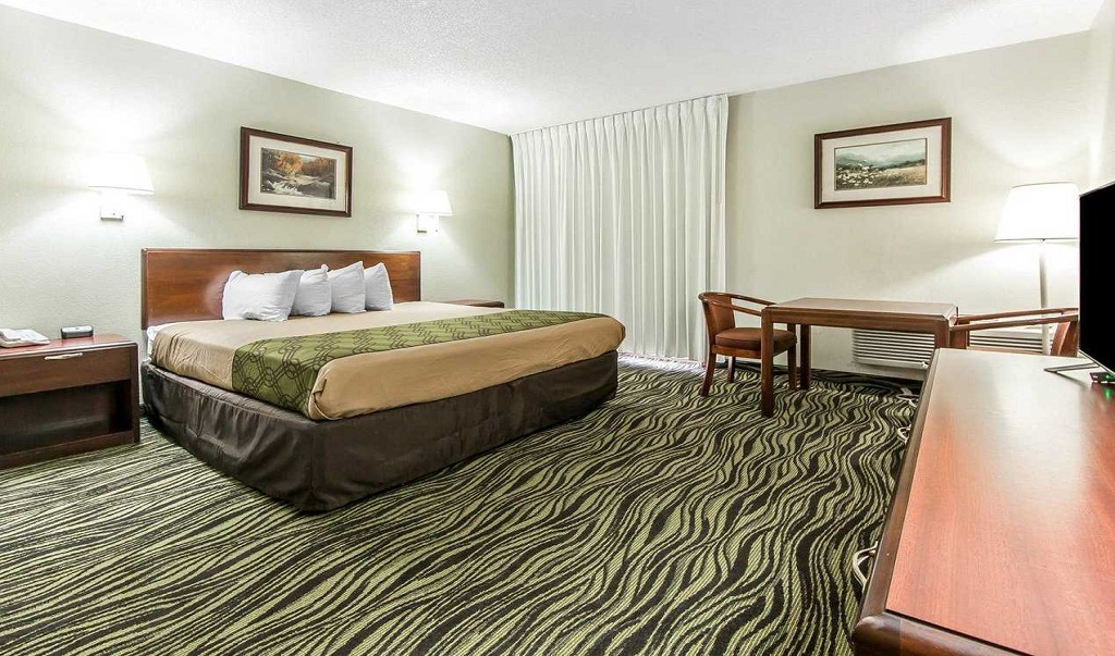 Econo Lodge Inn & Suites on the River - Single Bed Room-1