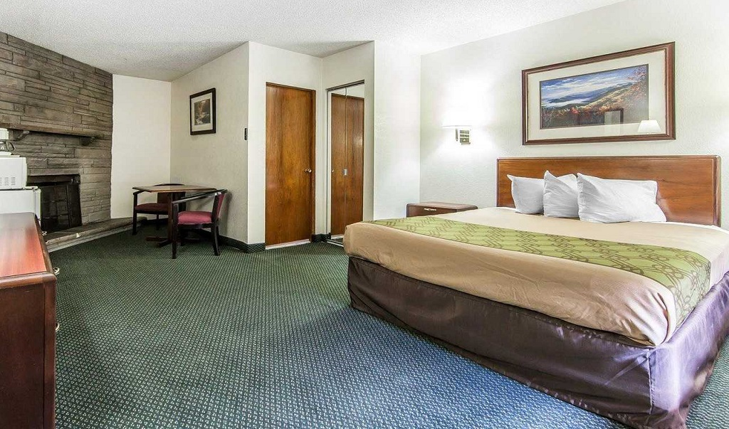 Econo Lodge Inn & Suites on the River - Single Bed Room-2