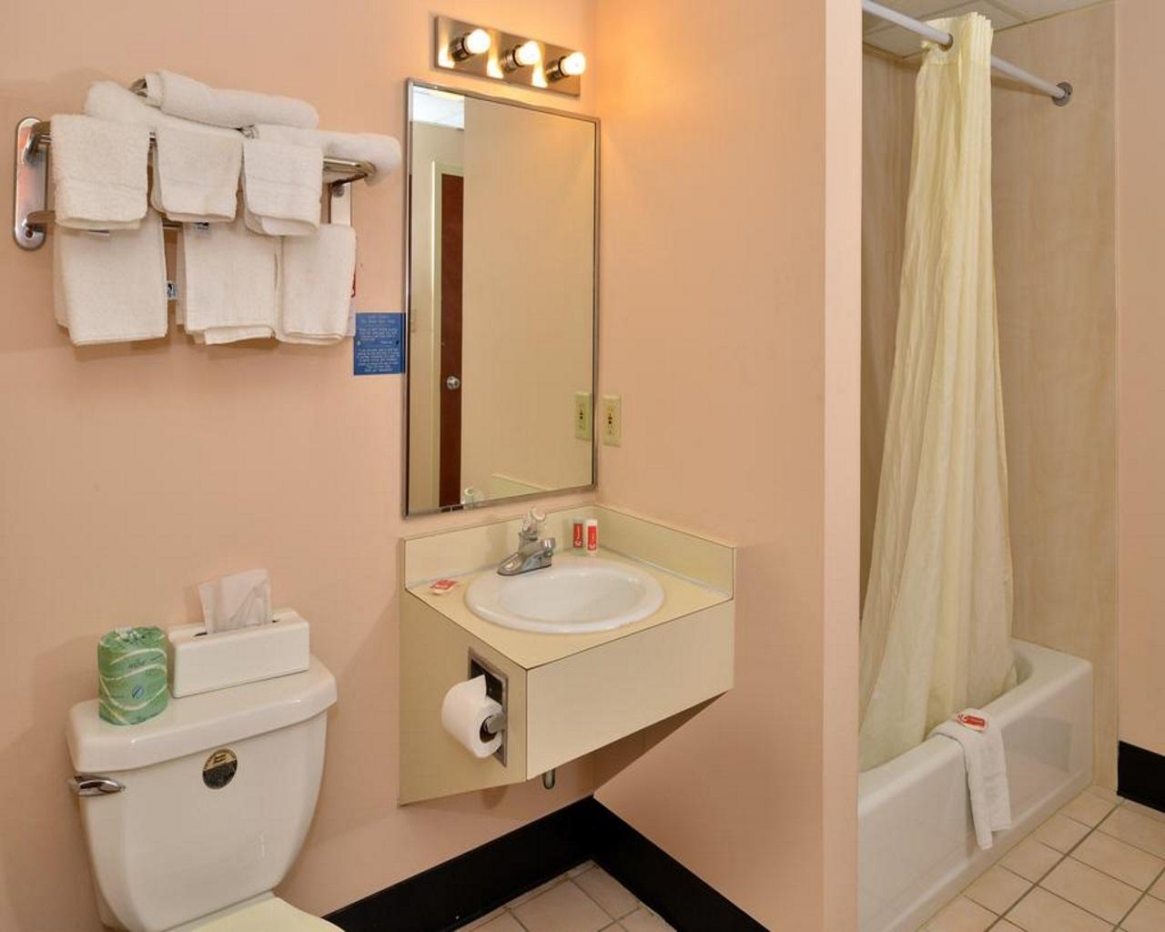 Econo Lodge Lancaster - Guest Bathroom