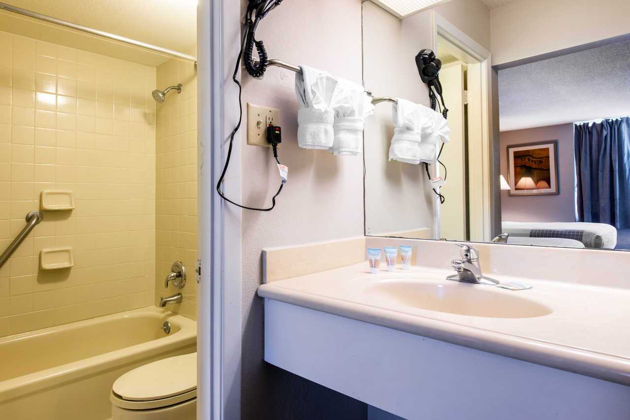 Econolodge Orlando Airport - Room Bathroom
