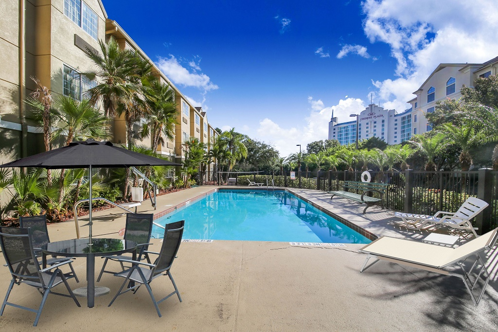 Floridian Hotel and Suites Extended Stay Orlando - Outdoor Pool-3