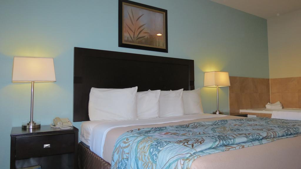 Grand Inn and Suites Houston - Single Bed-3