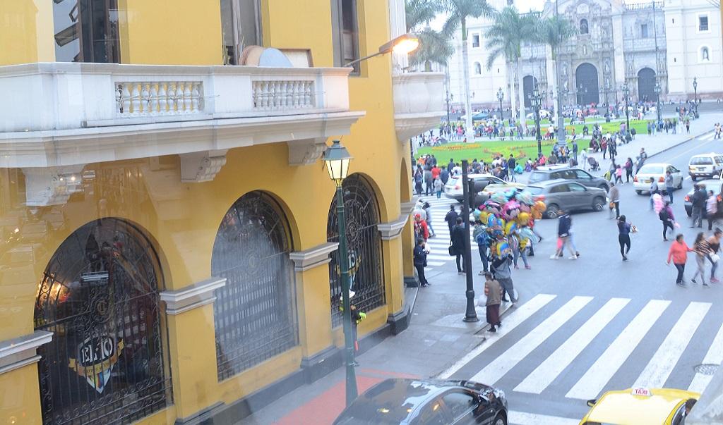 Hostal Plaza Mayor Lima - Exterior