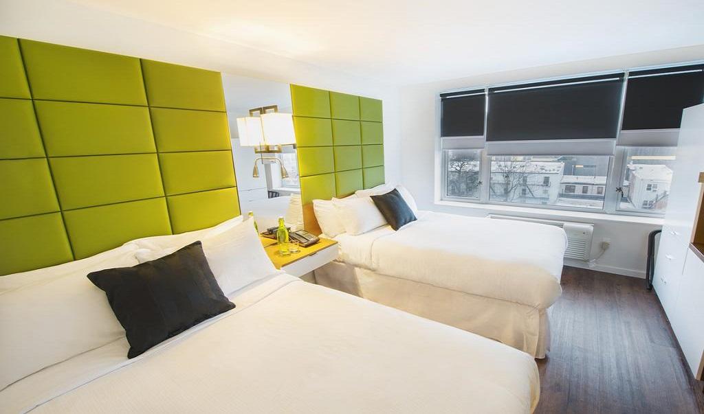 Hotel Bpm Brooklyn Double Beds